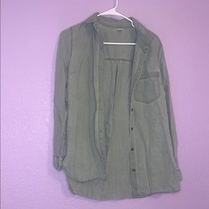 Old navy size medium button up top